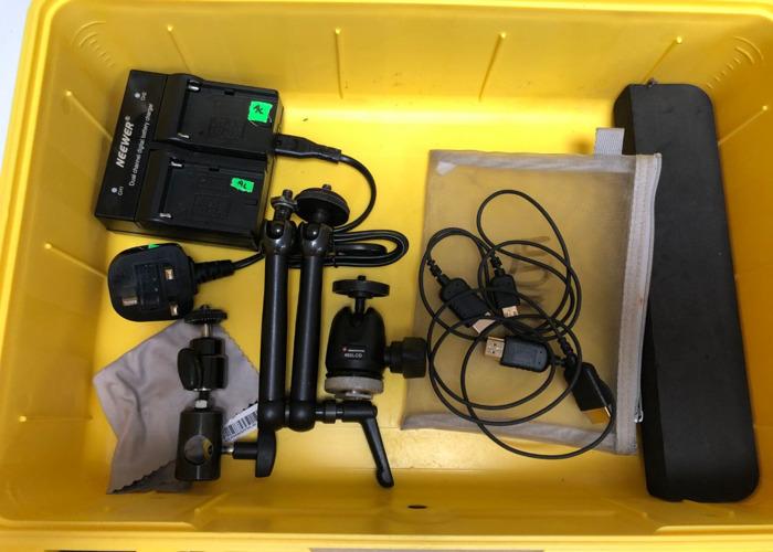 Atomos Ninja V HDR Kit w/Noga arm +++ - 2