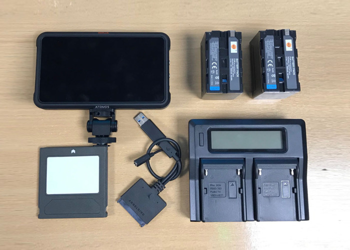 Atomos Ninja V Recorder/Monitor + 500GB SSD + Batteries - 1