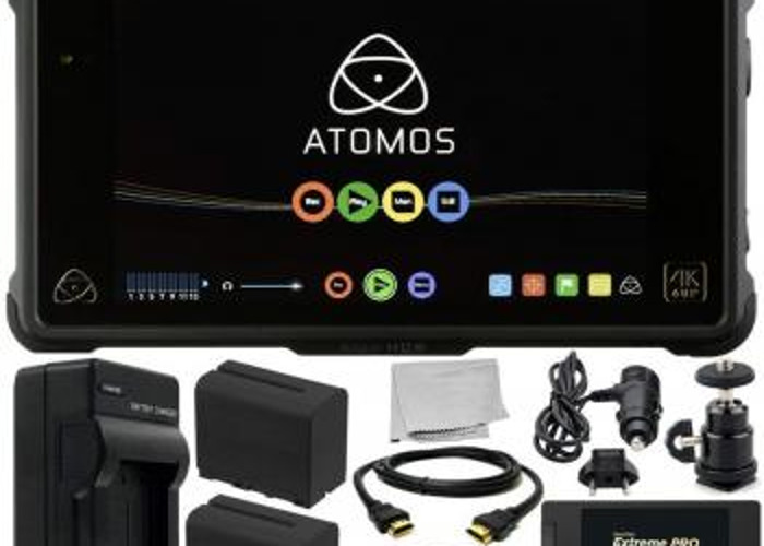 Atomos Shogun Inferno 4K 60fps Raw + 2 Large Batteries + 750gb SSD + Reader   - 1