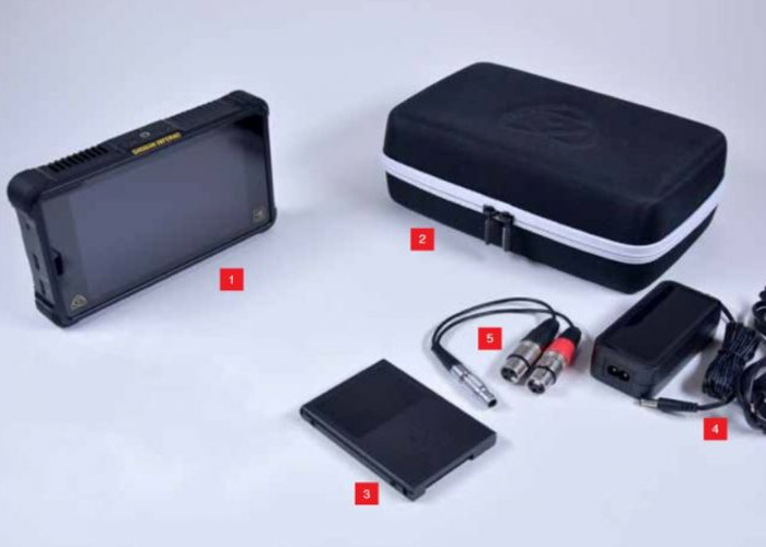 Atomos Shogun Inferno 4K 60fps Raw + 2 Large Batteries + 750gb SSD + Reader   - 2