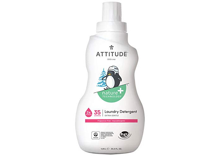 Attitude Little Ones Fragrance Free Laundry Detergent 35.5 Fluid Ounce - 1
