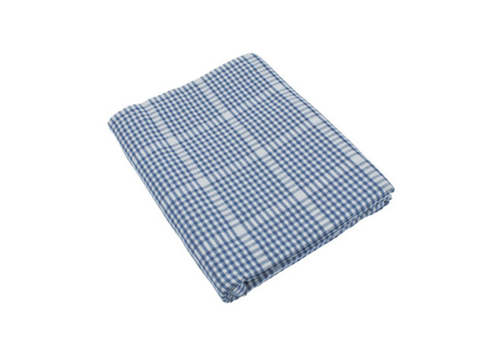Auberge Heavy Weight Cotton Tablecloth 130x130cm (Nordic Blue) - 1