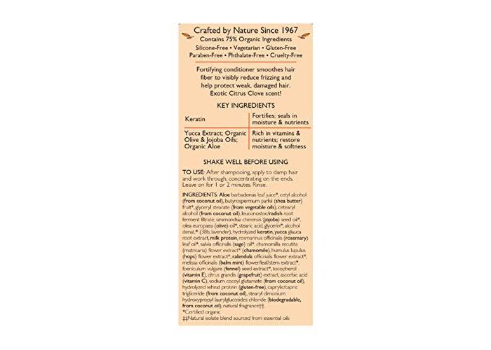 Aubrey Organics Jojoba and Aloe Desert Herb Revitalising Conditioner - 325ml - 2