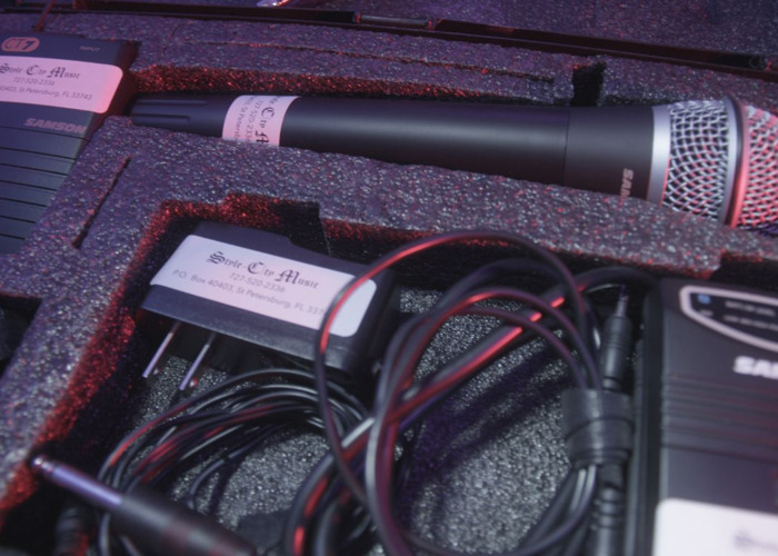 AUDIO - Single Channel Wireless Mic kit Rental - 1