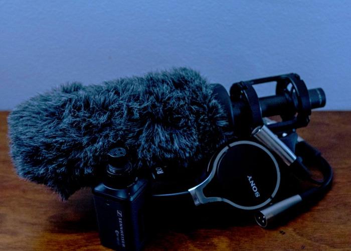 Audio Kit - Wireless Lav + Boom + Harness - 1