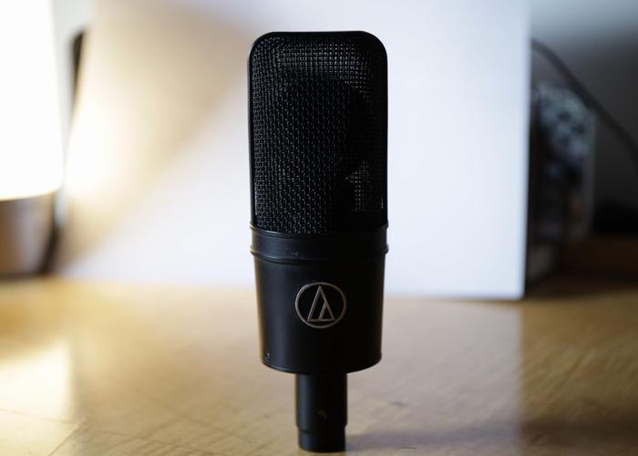 Audio Technica AT4033a Studio Condenser Microphone - 1