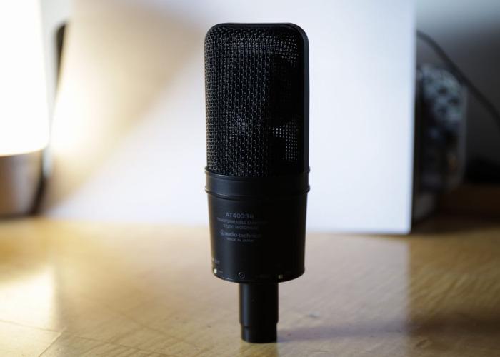 Audio Technica AT4033a Studio Condenser Microphone - 2