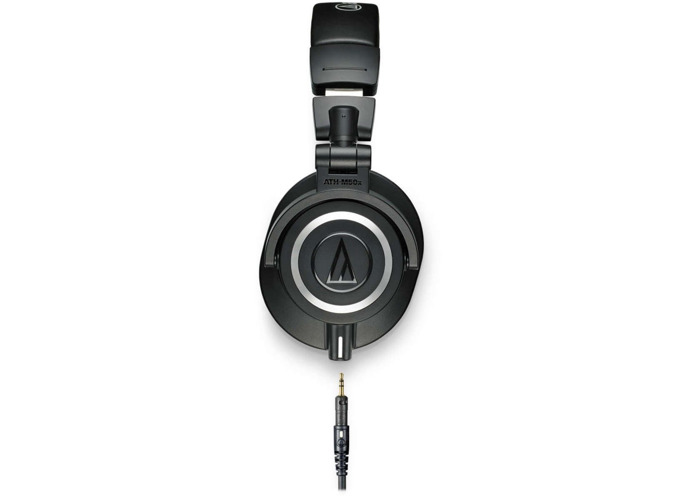Audio Technica ATH-M50X Professional Monitoring Headphones - 2