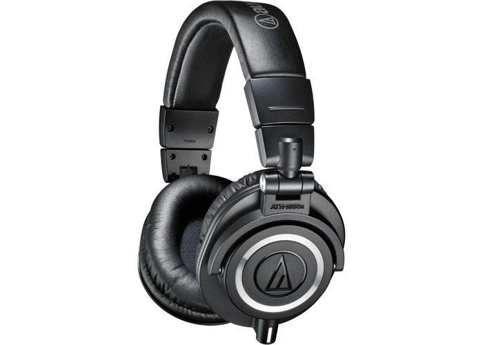 Audio Technica ATH-M50X Professional Monitoring Headphones - 1