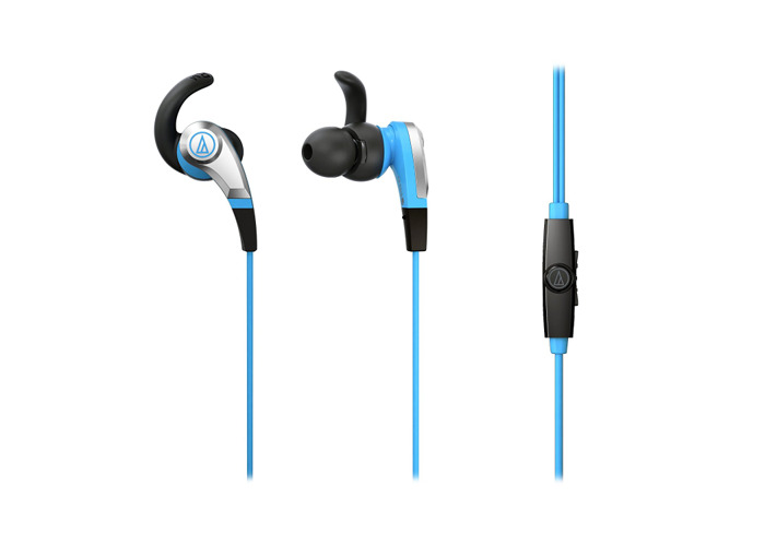 Audio-Technica ATH-CKX5iS Blue In Ear Headphones - 1