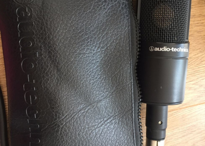 Audio-Technica Mic + Behringer Interface - Vocals Voiceover - 2