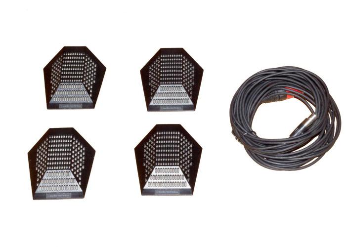 Audio-Technica PRO 44 Cardioid Condenser Boundary Microphone - 1