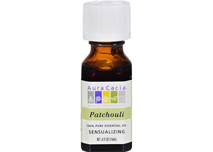Aura Cacia 0445528 Pure Essential Oil Patchouli - 0.5 fl oz - 1