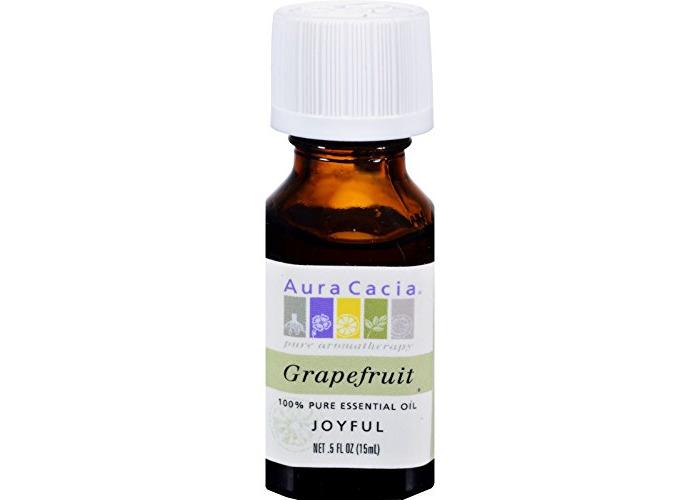 Aura Cacia 0620328 Pure Essential Oil Grapefruit - 0.5 fl oz - 1