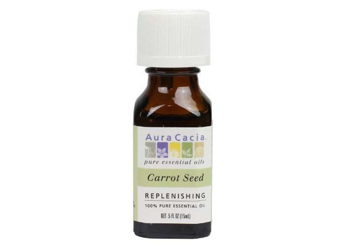 Aura Cacia Essential Oil, Replenishing Carrot Seed, 0.5 fluid ounce - 1