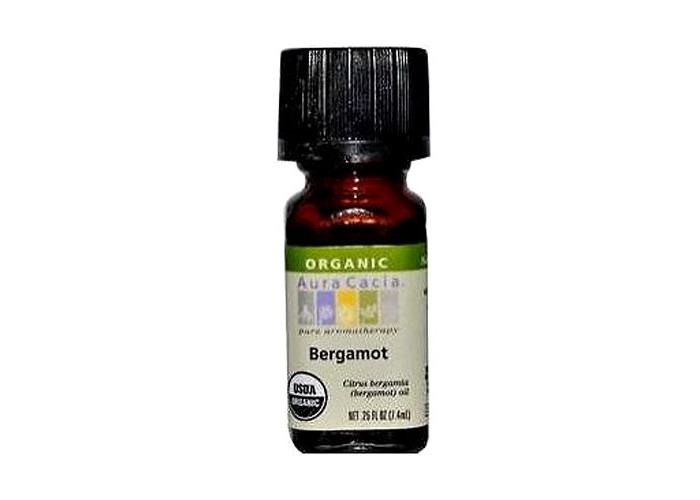 Aura Cacia Organic, Bergamot, 0.25 Fluid Ounce - 1