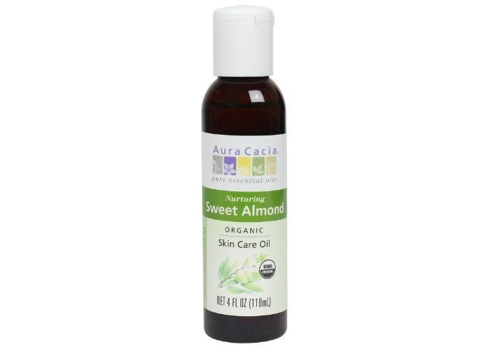 Aura Cacia Organics Skin Care, Sweet Almond 4 fl oz - 1