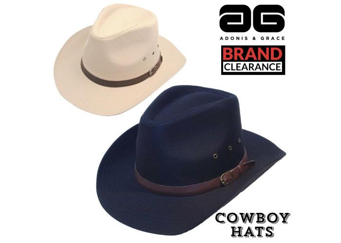 2a22e99d4 Buy Aussie Style Cowboy Hat Black Cream 100% Cotton Summer UP50+ ...