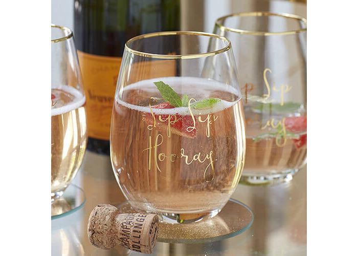 Ava & I Stemless Wine Glass - 2