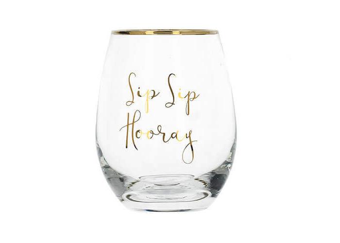 Ava & I Stemless Wine Glass - 1