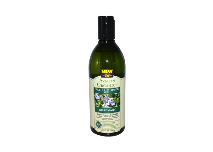 Avalon Organics Bath And Shower Gel Rosemary - 12 Fl Oz - 2