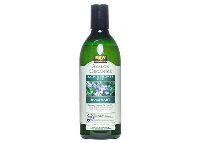 Avalon Organics Bath And Shower Gel Rosemary - 12 Fl Oz - 1