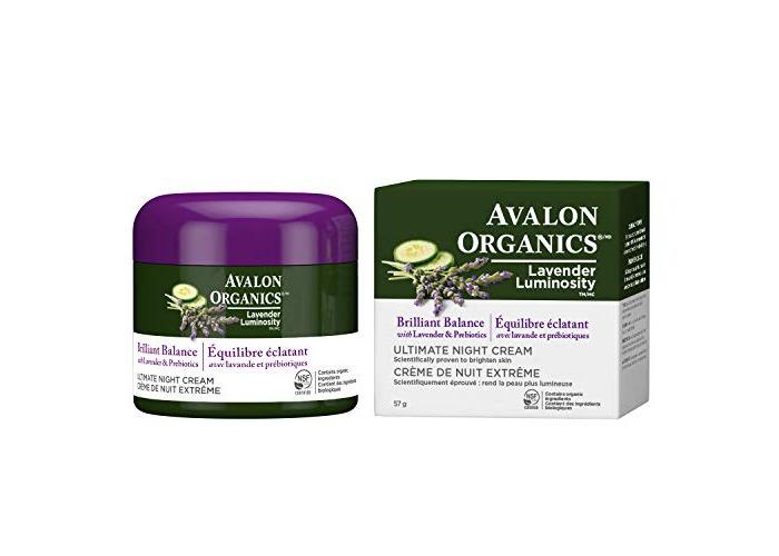 Avalon Organics Brilliant Balance Ultimate Night Cream, 2 Ounce - 1