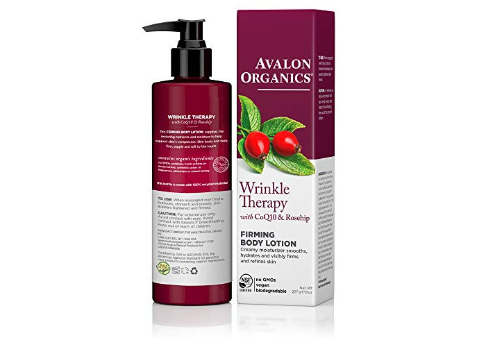 Avalon Organics CoQ10 230 ml Wrinkle Therapy Ultimate Firming Lotion - 2