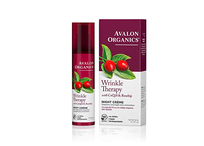 Avalon Organics Wrinkle Defence Night Cream 50ml - 1