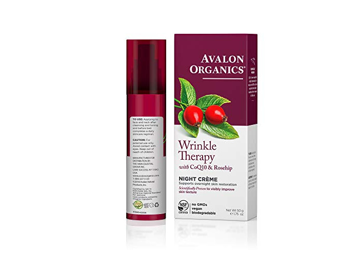 Avalon Organics Wrinkle Defence Night Cream 50ml - 2