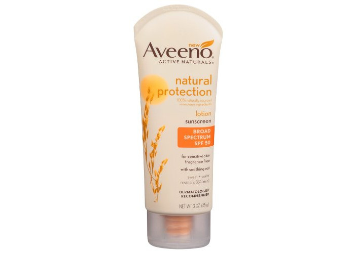 Aveeno Natural Protection Adult Spf#50 Lotion 3oz - 2