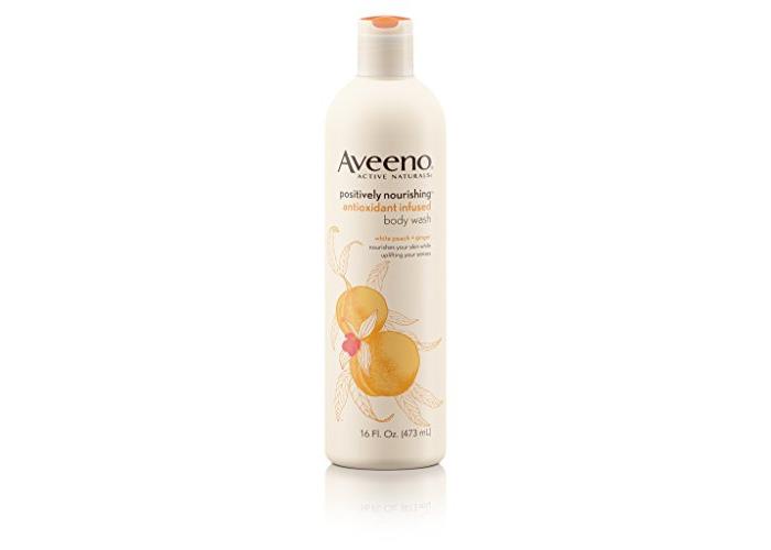 Aveeno Positively Nourishing Antioxidant Infused Moisturizing Body Wash, 16 Oz - 1