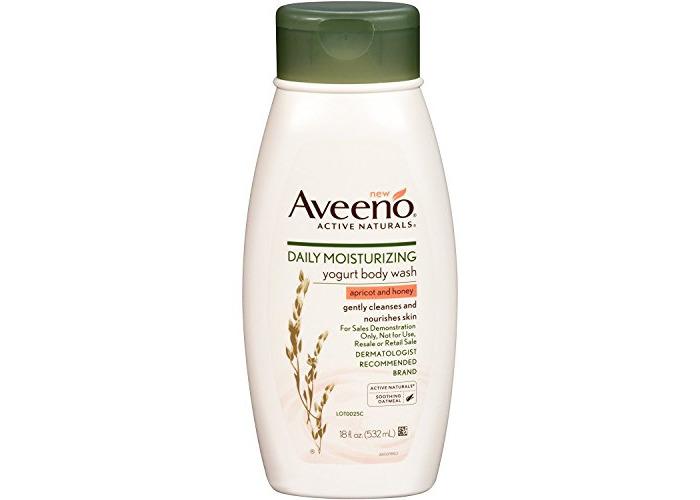 Aveeno Yogurt Body Wash Apr/Hn 18 Oz - 1