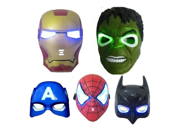 Buy Avengers Super Heroes LED Mask with Sound Effects (HULK