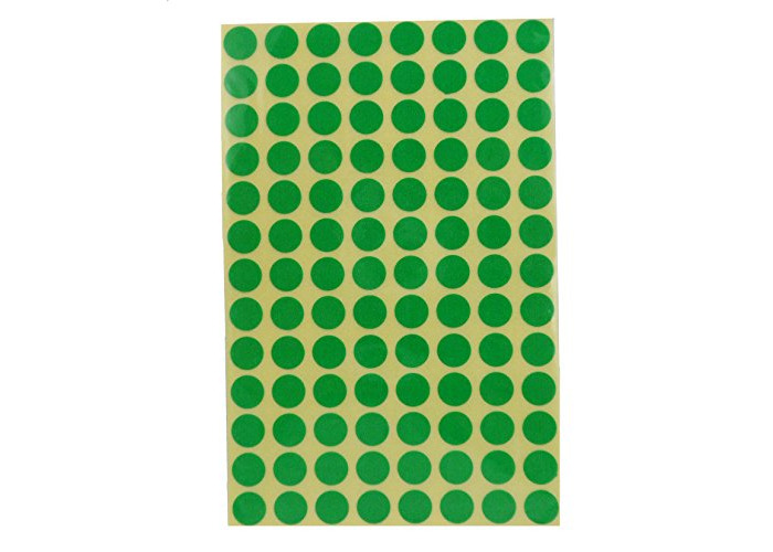 Avery 32-302 Green 8Mm Dots - 1
