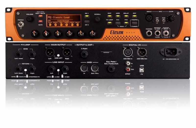 Avid Eleven Guitar Recording and Effects Unit - 1