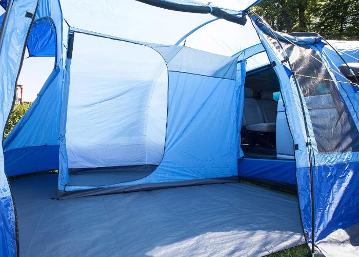 Awning tent for vw camper transporter Bongo  - 2