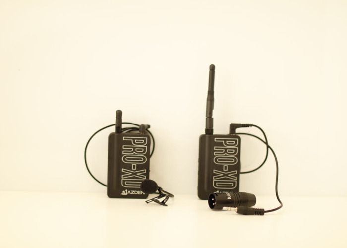Azden PRO-XD 2.4 GHz Digital Wireless Lavalier System - 2