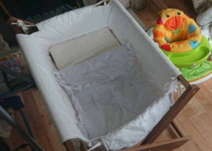 Baby crib/moses basket - 1