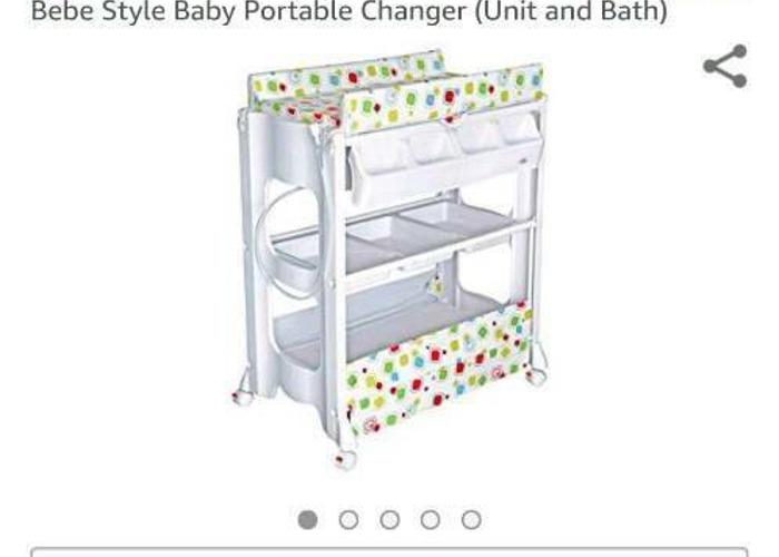 Baby Portable Changer (Unit & Bath) - 1