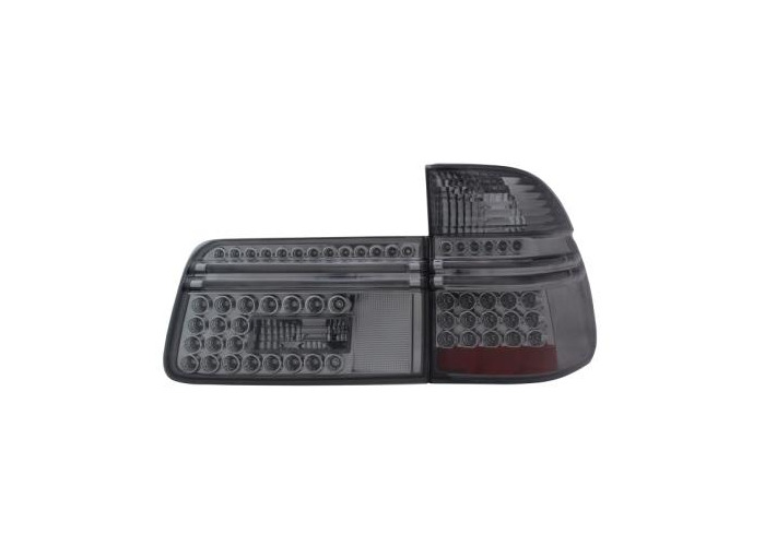 Back Rear Tail Lights Lamp Indicator LED Smoke For BMW E39 Only Touring 97-04 - 1