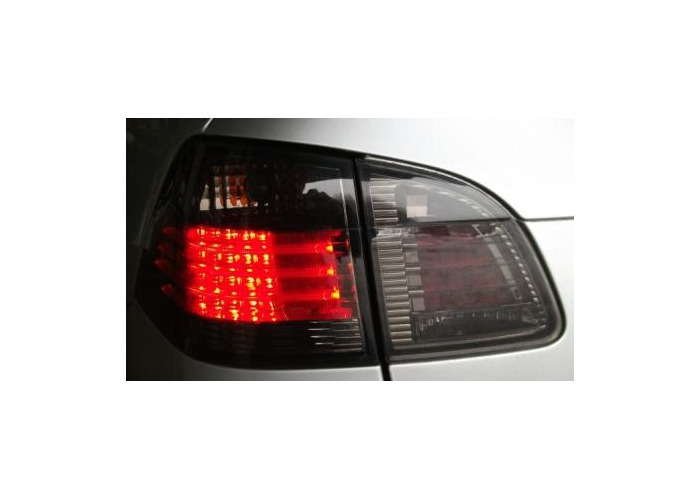 Back Rear Tail Lights Lamp Indicator LED Smoke For BMW E61 Touring 04-07 - 2