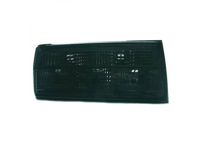Back Rear Tail Lights Pair Set Black For BMW 3 Series E30 87-90 - 1