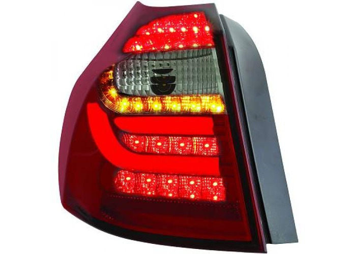 Back Rear Tail Lights Pair Set Clear Red Black For BMW E81 E87 04-11 - 1