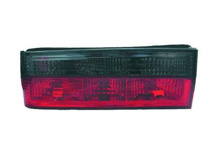 Back Rear Tail Lights Pair Set Clear Red Grey For BMW 3 Series E30 82-87 - 1