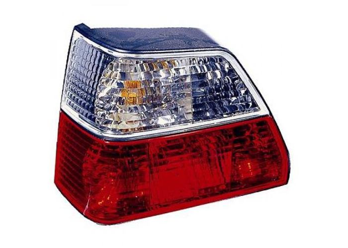 Back Rear Tail Lights Pair Set Clear Red White For VW Golf II Typ191 83-91 - 1