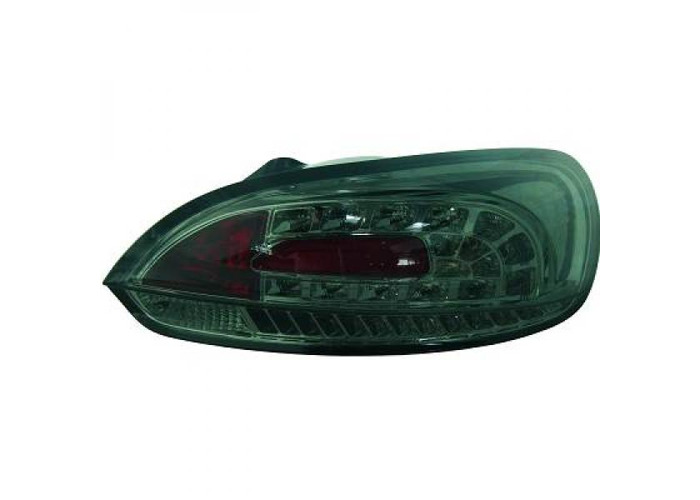 Back Rear Tail Lights Pair Set LED Clear Smoke For VW Scirocco 08-14 - 1