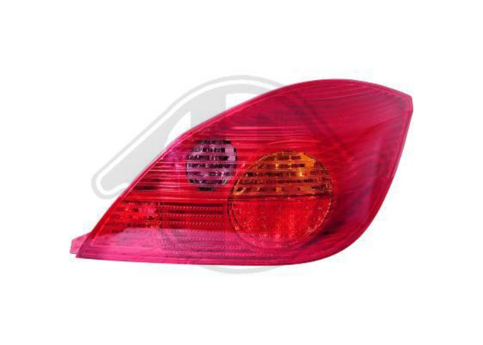 Back Rear Tail Lights Pair Set LED Red For Vauxhall Twin Top 04-On - 1