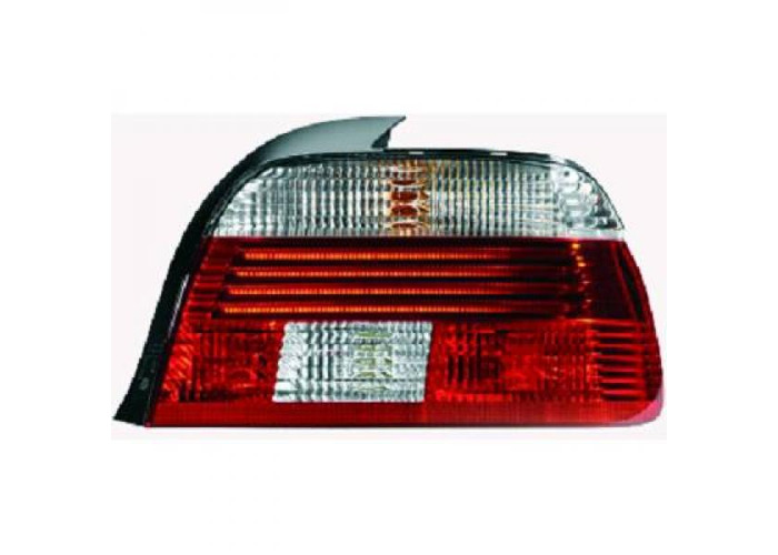 Back Rear Tail Lights Pair Set LED Red White For BMW 5 Series E39 95-00 - 1