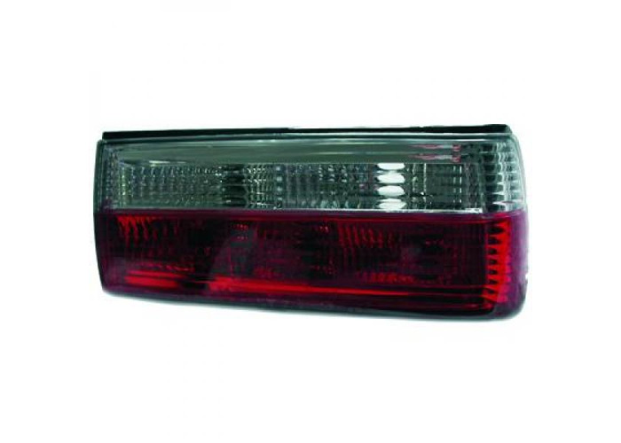 Back Rear Tail Lights Pair Set Red White BMW 3 Series E30 87-90 - 2